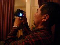PAでお馴染み@茶碗さんはカメラ撮影中
