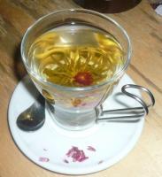 【common cafe】の華茶(ハーブティー) 500円