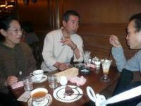 LIVE終了後の茶話会