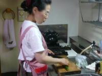 @茶碗さん奥ちゃまが夕食を作って頂きます