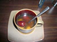 5/16 なつめ茶600ウォン(約700円)