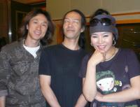 5/16 マジャン駅前のスタジオ perキム・チョンキュンさんg村山義光氏voウンサンさん