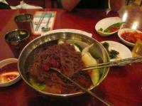 5/17 インチョン空港内の韓国料理屋で「ネンミョン」冷麺」800ウォン(約1000円)を食べました