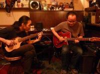 村山義光氏と飛び入りgギターのお客様