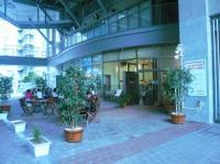 会場【KOKO PLAZA ココプラザ 青少年文化創造センター】のレストラン外観