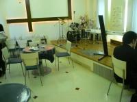 会場【KOKO PLAZA ココプラザ 青少年文化創造センター】のレストラン内