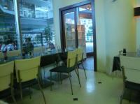 会場【KOKO PLAZA ココプラザ 青少年文化創造センター】のレストラン内から見える外