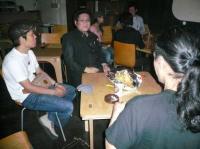 大阪芸大の学生ベーシストさんとb時安吉宏さんとg村山義光氏が語り合う