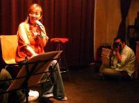 vo高橋亜希子さんとカメラマンさん