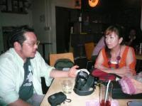 vo高橋亜希子さんとカメラマンのハイパーNAZOCHUさん