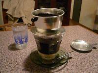 モノカフェ【ワヲン】のベトナムコーヒー・コンデンスミルク付450円