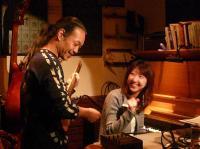 【グリニッチハウス】のオーナーの娘さんのp岩崎 恵さん
