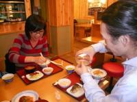 LIVe終了語のご飯。くり子と村山氏