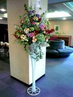 vo北橋美輪子さんへのお祝いの花束もたくさん到着
