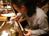 本日は節分。巻き寿司を食するg村山義光氏