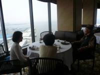 【HYATT REGENCY OSAKA】28階四川料理【天空】にて父と母と叔母とランチ