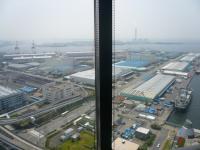 【HYATT REGENCY OSAKA】28階からの眺め