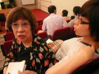 会場にはボーカル仲間のvo武内樹子さんvo豊田久理子さんの姿も