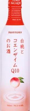 白桃とコエンザイムQ10