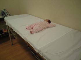 小児科受診中