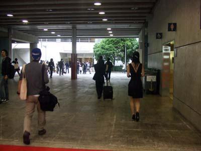 東京モーターショー (通路)