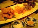 Yugafu-yamabare(ゆがふ山原)夕食天ぷら。