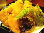魚松天ぷら盛り合わせ。