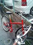 無印良品自転車。