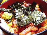 柳橋食堂海鮮丼。