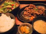 泰元食堂焼肉定食。