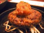 泰元食堂ハンバーグ定食。