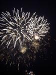 香椎の東区花火大会で福岡最後の花火。