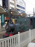 松山市内を元気に走る 坊ちゃん列車♪