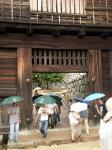 松山市内にそびえ立つ 愛媛の松山城。