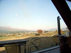 南阿蘇の山の洋食屋フレールで赤牛ハンバーグランチ☆