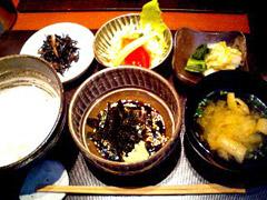 赤坂の鯛茶やで鯛茶漬ランチ☆
