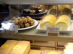 唐津・浜玉町のたまご色のケーキ屋さんのロールケーキ!