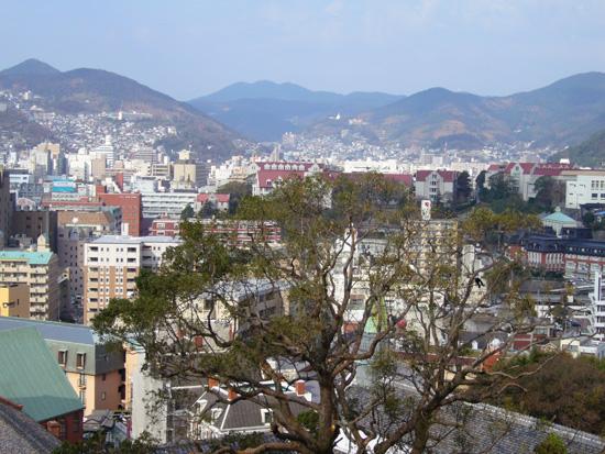 現在の東側からの景色