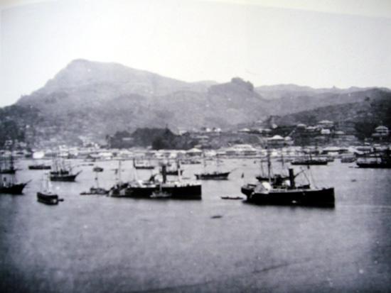 幕末の長崎港