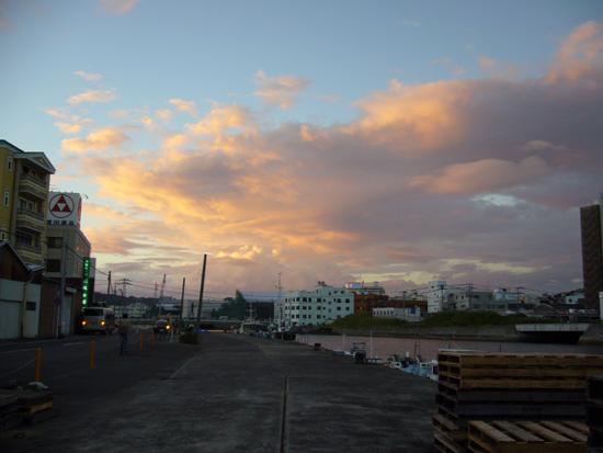長崎の夕暮れ