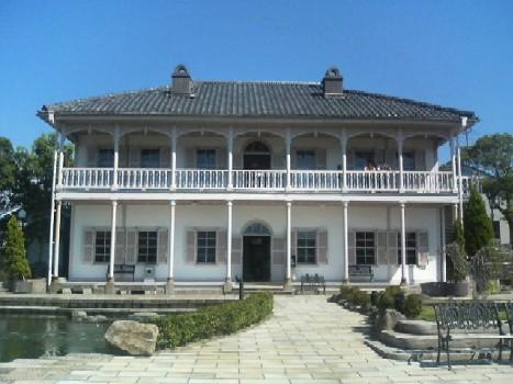 グラバー邸の南蛮館