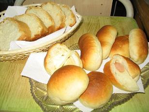半斤パンと成形パン