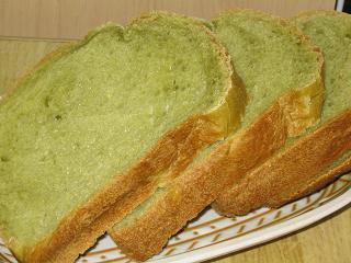 抹茶食パン(はるゆたか)