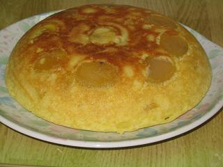 炊飯器ケーキ(栗)