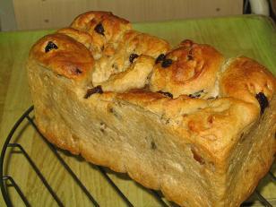 くるみレーズン(ミニ食パン