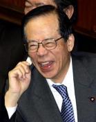 喜ぶ福田総理