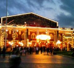 ディズニー夜景
