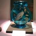 青い花瓶 魚