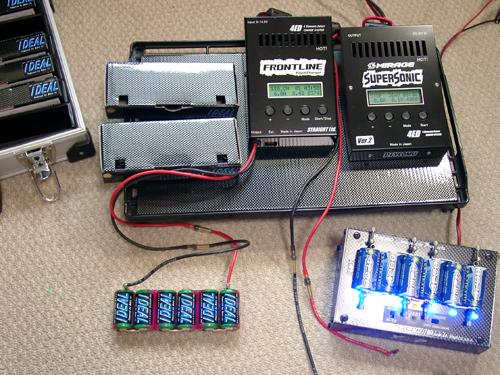 バッテリー保管充電