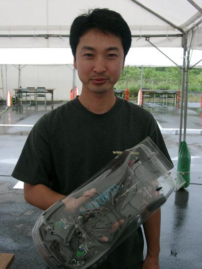 正美選手とYMP005-TCSP